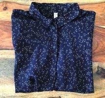 Fishbone Zijden blouse zwart-wit Polyester