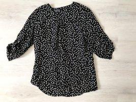 Adagio Lange blouse zwart-wit