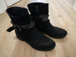 Schwarze Boots Gr 37