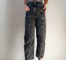 Bershka Jeans boyfriend multicolore jean