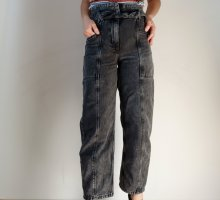 Bershka Boyfriend Jeans multicolored denim