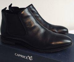 Caprice Chelsea laarzen zwart