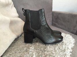 Schwarze Chelsea Boots mit mittelhohem Bund Park Lane ASOS Größe 39