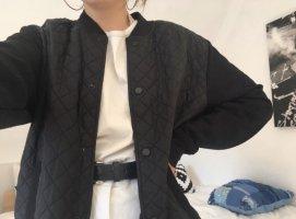 Schwarze College Jacke von Zara