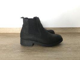schwarze Cox Chelsea Boots