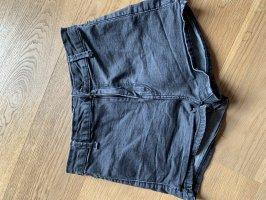 Schwarze Denim Shorts