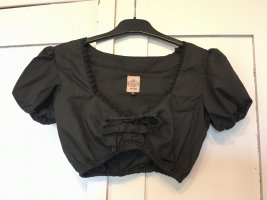 Schickeria Trachten Traditional Blouse black