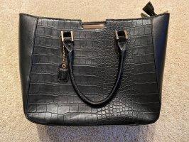 Schwarze elegante Handtasche