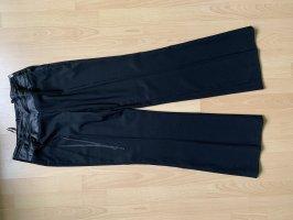 Schwarze elegante Hose von Apart Gr. 38