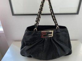 Schwarze Fendi Handtasche