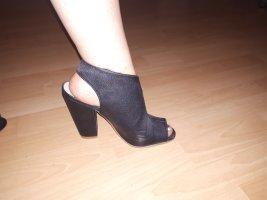 schwarze h&m high heels