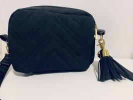 Schwarze Handtasche - Handmade