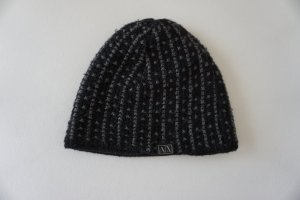 Armani Exchange Knitted Hat black-dark grey