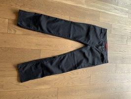 Boss Jeans met rechte pijpen zwart
