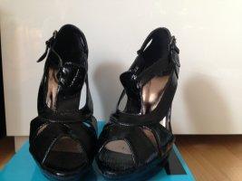 schwarze High Heels, Größe 40, neuwertig, Marke chix, mit Karton