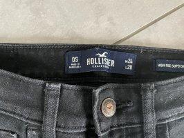 Schwarze Hollister Jeans