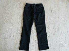 C&A Lage taille broek zwart Katoen
