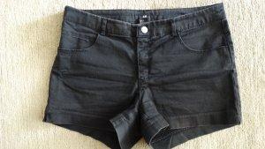 H&M Short moulant noir-gris anthracite