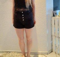 Schwarze Hotpants Bershka Gr.40 Neu