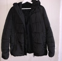 Bershka Down Jacket black
