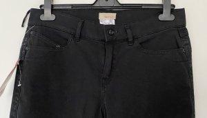 Apriori Stretch jeans zwart Katoen