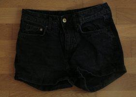 Schwarze Jeans Hot Pants von H&M