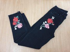 H&M Jeansy z prostymi nogawkami Wielokolorowy