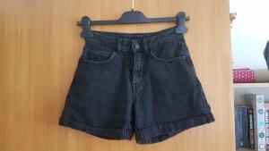 Vero Moda Jeansowe szorty czarny