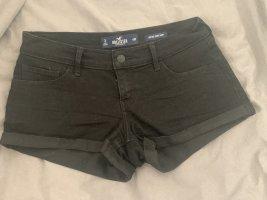 Hollister Jeansowe szorty czarny