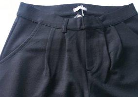 Friendtex Peg Top Trousers black mixture fibre