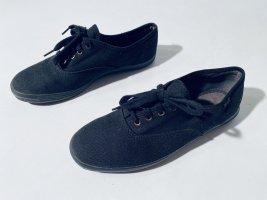 Schwarze Keds Stoff-Sneaker Gr. 38