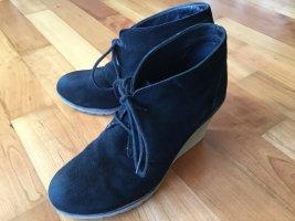 Akira Chaussures à lacets noir cuir