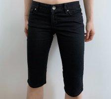 Orsay Pantaloncino di jeans nero