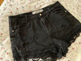 Primark Pantalón corto negro