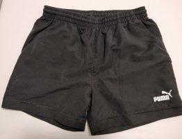 Schwarze kurze Sporthose, Shorts von Puma, Gr. S (36/38)
