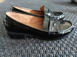 Slip-on Shoes black leather