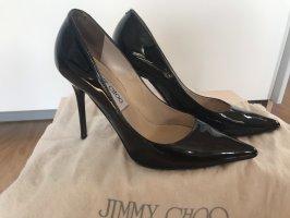 Schwarze Lackleder Pumps von Jimmy Choo