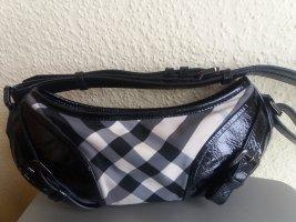 Burberry Shoulder Bag black-light grey leather
