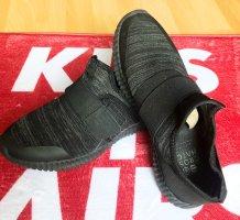 Basket velcro noir-gris