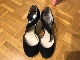 Schwarze Leder Schuhe in Gr.38/5 von Michael Kors.