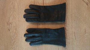 Rękawiczki skórzane czarny