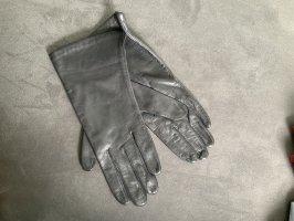 lothar weikert Rękawiczki skórzane czarny
