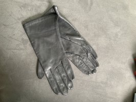 lothar weikert Leather Gloves black