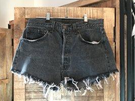 Levis Short en jean noir-gris anthracite