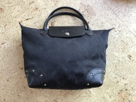 schwarze Longchamp-Tasche