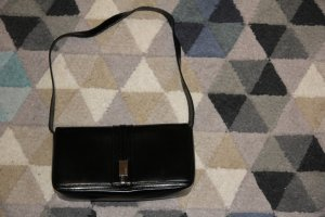 Schwarze Mini Handtasche Clutch fürs Theater von Marke Medici