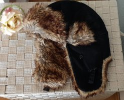 Aviator Hat black-brown