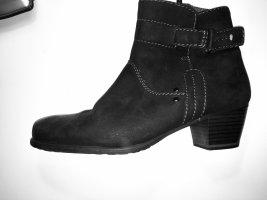 Tamaris Botines de invierno negro Cuero
