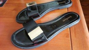 bebe Comfortabele sandalen zwart