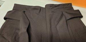 Ba&sh Pantalon paperbag noir viscose